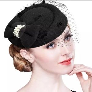 Fascinator Hats For Women Winter Headbands Tea Par